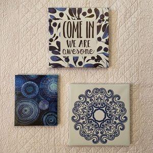 Canvas Print Wall Art Trio